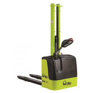 PRAMAC RX10/16 PLUS - Electric stacker with plus batteries and a normal free lifting of 1510 mm