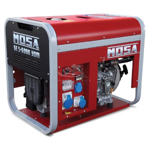 MOSA GE S-6000 YDM, AVR - Portable and covered generator with single-phase power 4.5 KW