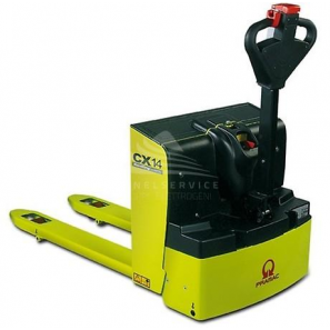PRAMAC CX14 - Electric pallet trucks for smooth surfaces and lorries, with a load capacity up to 1400 Kg