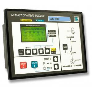 SICES GC500 genset Controller for Synchro/Parallel Applications