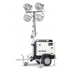 ITALTOWER FENIX 4x1000 W METAL HALIDES OVAL FAST TRAILER