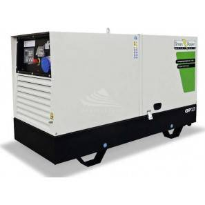 GREEN POWER GP33S/P-N SOUNDPROOF WITH AVR-LINZ ALTERNATOR (MANUAL CONTROL UNIT)