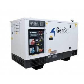 GENSET MG 23 I-SY - Pannello frontale