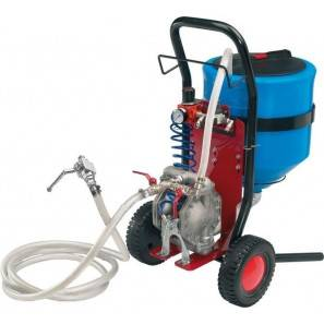 LARIUS MINIPEGASO - Cementitious materials sprayer Turbo Gun